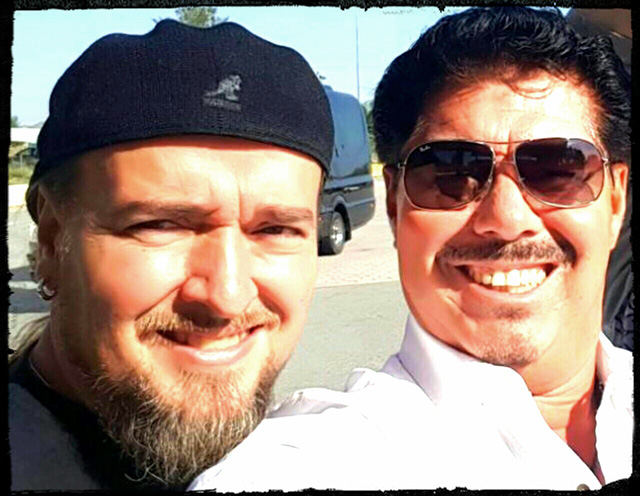 Alberto Rionda y Paulo Barón