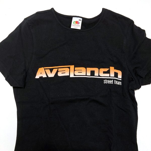 "Camiseta Avalanch ""Street Team» (chica)"